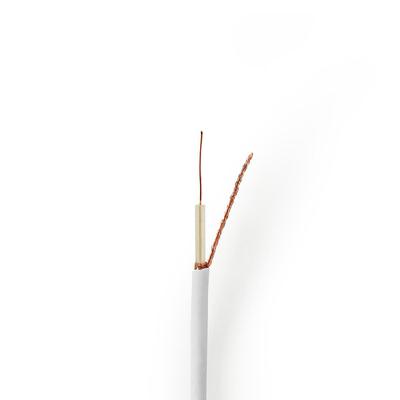 Nedis CSBG4005WT500 Coax kabel - Wit