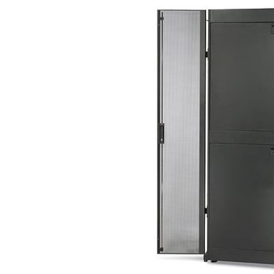 APC NetShelter SX 42U 600mm Wide Perforated Split Doors Rack toebehoren - Wit