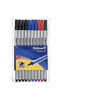 Pelikan fijnschrijver: Fineliner 96 - Multi kleuren