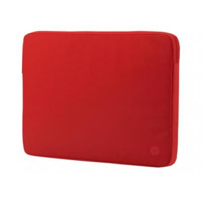 "Hp laptoptas: 39.62 cm (15.6"") Spectrum Red Sleeve - Rood"