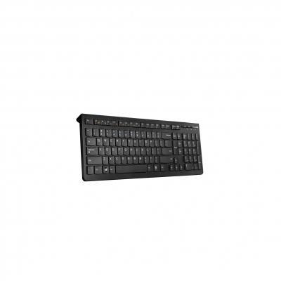 Lenovo toetsenbord: Wireless keyboard, 2.4 GHz, black - Zwart