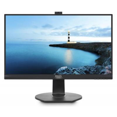 Philips monitor: Brilliance QHD LCD-monitor met PowerSensor - Zwart
