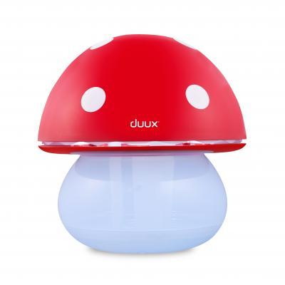 Duux luchtbevochtiger: Mushroom Ultrasone Luchtbevochtiger (Rood) - Rood, Wit