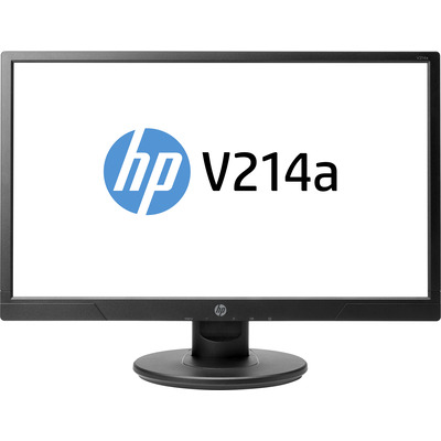 HP monitor: V214a 20.7-inch Monitor - Zwart (Demo model)