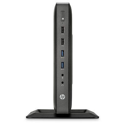 HP t620 Flexible + Z24i + Thin Client Mount Kit thin client - Zwart