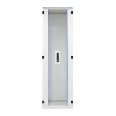EFB Elektronik Door for Standard Cabinet 42U, W=600, Glass, 2-Part, RAL7035, 1-Pt.-Lock Rack toebehoren - .....