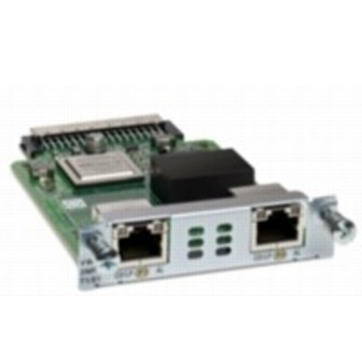 Cisco VWIC3-2MFT-G703= Netwerkkaart - Wit