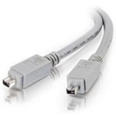 C2g fireware kabel: 3m IEEE-1394 Cable - Grijs