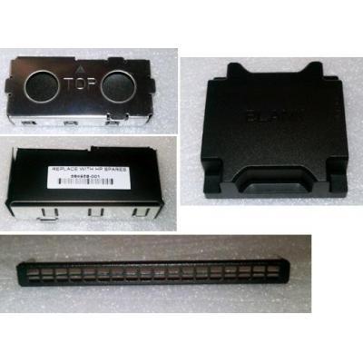 Hewlett Packard Enterprise Miscellaneous blank kit - Includes heatsink blank, fan blank, .....