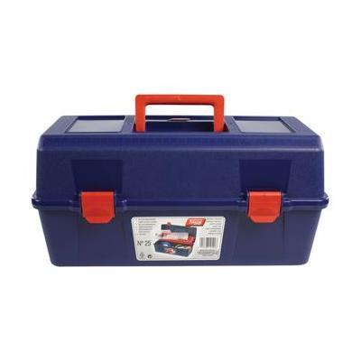 Tayg : Plastic Tool Box, Box Blue, Tray Red, Box Transparent - Blauw, Rood, Transparant
