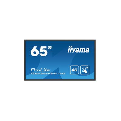 Iiyama ProLite TE6568MIS-B1AG Touchscreen monitor - Zwart
