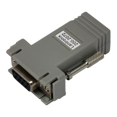 Lantronix 200.2072 Kabel adapter - Grijs