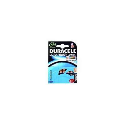 Duracell batterij: Ultra Power AAA 8 Pack - Zwart