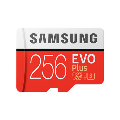 Samsung MB-MC256G flashgeheugen - Rood, Wit