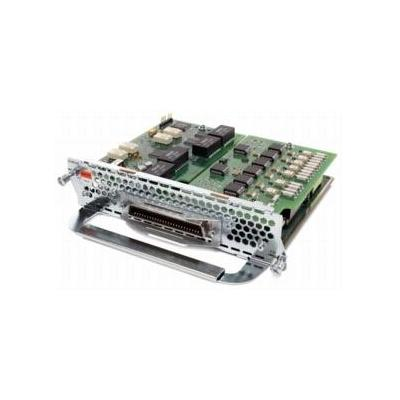 Cisco voice network module: 7-port voice/fax expansion module-3FXS/4FXO