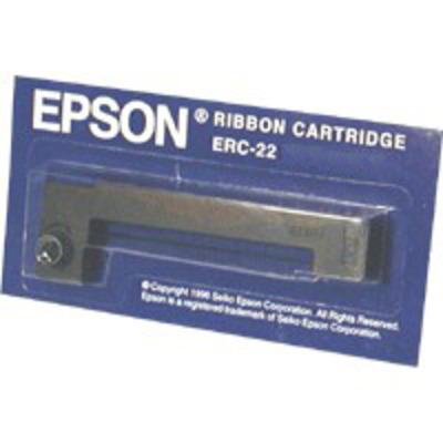 Epson ERC-22 Black Printer Ribbon Printerlint - Zwart