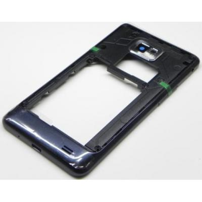 Samsung mobile phone spare part: GT-I9105P Galaxy S2 Plus, middle cover, blue