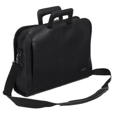 "Dell laptoptas: Targus Executive Topload Laptop Case 15.6"", Black - Zwart"