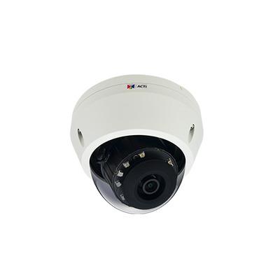 ACTi E710 Beveiligingscamera - Zwart, Transparant, Wit