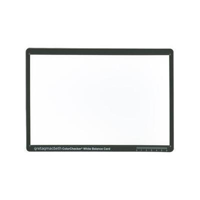X-Rite Munsell ColorChecker White Balance Card Printerkit