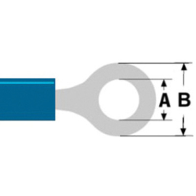 Valueline ST-102 Kabel connector - Blauw