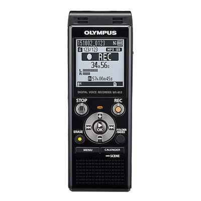 Olympus voice recorder: WS-853 - Zwart