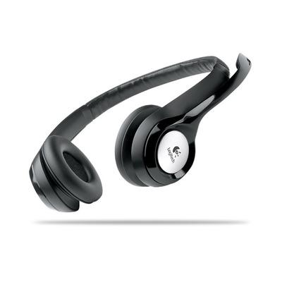 Logitech headset: ClearChat Comfort - Zwart