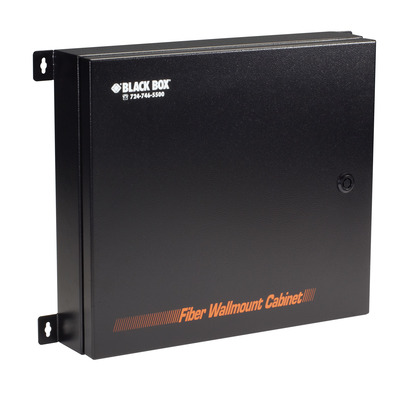 Black Box 1016x99x449mm, 10kg, Steel, Black Netwerkchassis - Zwart