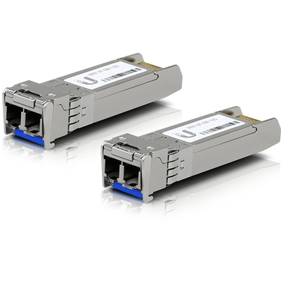 Ubiquiti Networks UF-SM-10G Netwerk tranceiver module - Aluminium, Blauw