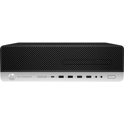HP EliteDesk 800 G5 SFF i5 8GB RAM 1TB HDD Pc - Zwart,Zilver