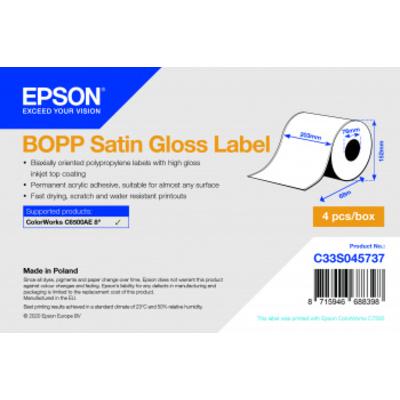 Epson C33S045737 Etiket