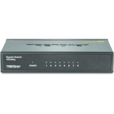 Trendnet GREENnet Switch - Zwart