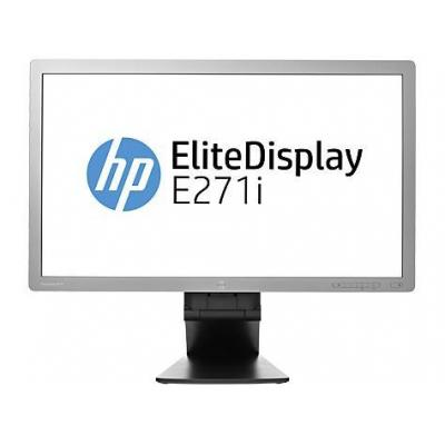 HP monitor: EliteDisplay E271i - 27'' Full HD - Grijs