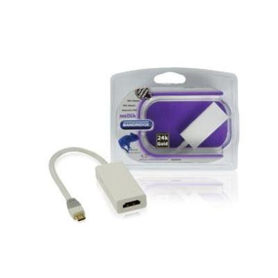 Bandridge : MHL adapter 0.2 m - Wit