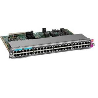 Cisco WS-X4748-12X48U+E Netwerkkaart - Grijs