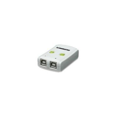 IC Intracom MANHATTAN USB 2.0 Automatic Sharing Switch hub