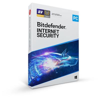 Bitdefender Internet Security 2020 - 2 jaar/5 apparaten Firewall software