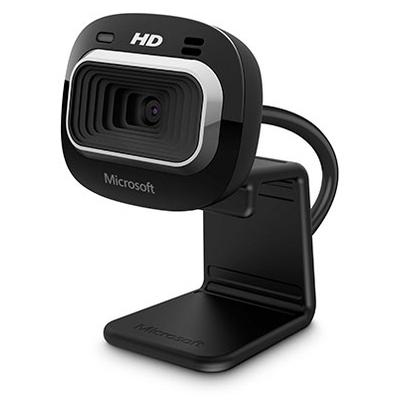 Microsoft LifeCam HD-3000 for Business Webcam - Zwart