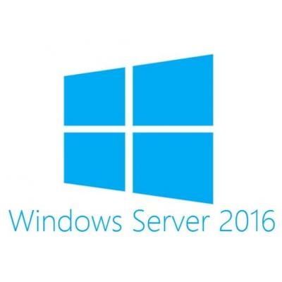 Dell Besturingssysteem: MS Windows Server 2016 Datacenter, RR, 16C, ROK