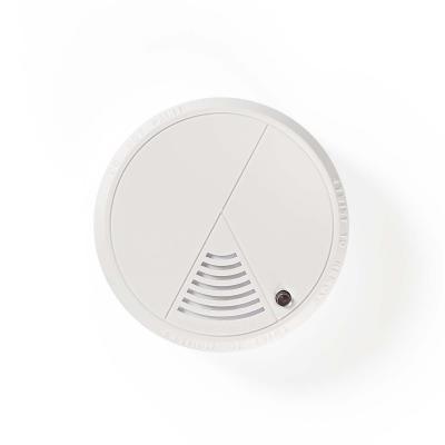 Nedis rookmelder: 85 dB, DC 9 V, 1x 9V/6F22, EN14604 - Wit