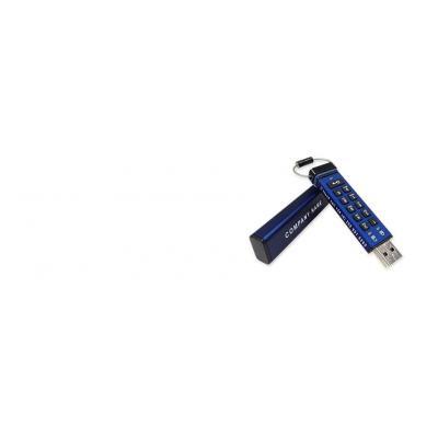 Istorage USB flash drive: datAshur Pro 256-bit - Blauw