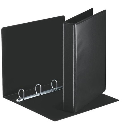 Esselte ringband: Panorama Ring Binders 4 x 30 mm Black - Zwart