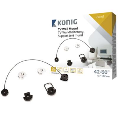 König KNM-LCLED10 Montagehaak - Zwart