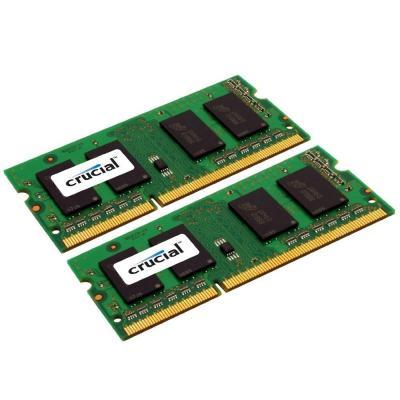 Crucial RAM-geheugen: 8GB (2x4GB) DDR3-1333 CL9 SO-DIMM LV