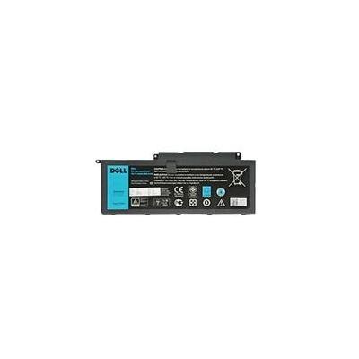 Dell batterij: 4-cell 54Whr - Zwart