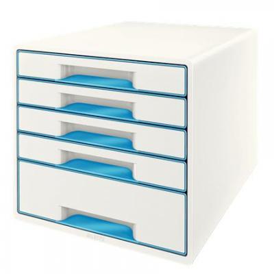 Leitz bureaulade: Wow Cube - Blauw, Wit