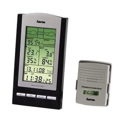 Hama weerstation: EWS-800 - Zwart, Zilver