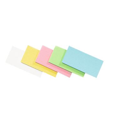 Legamaster Workshopkaart rechthoek 95x200mm assorti 500 stuks Zelfklevend notitiepapier