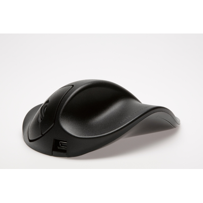 HandshoeMouse HandShoe Mouse Wired Small Links Computermuis - Zwart