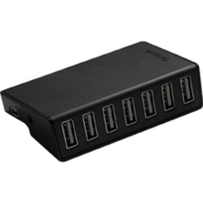 Targus 7-PORT USB DESKTOP PERP Hub - Zwart